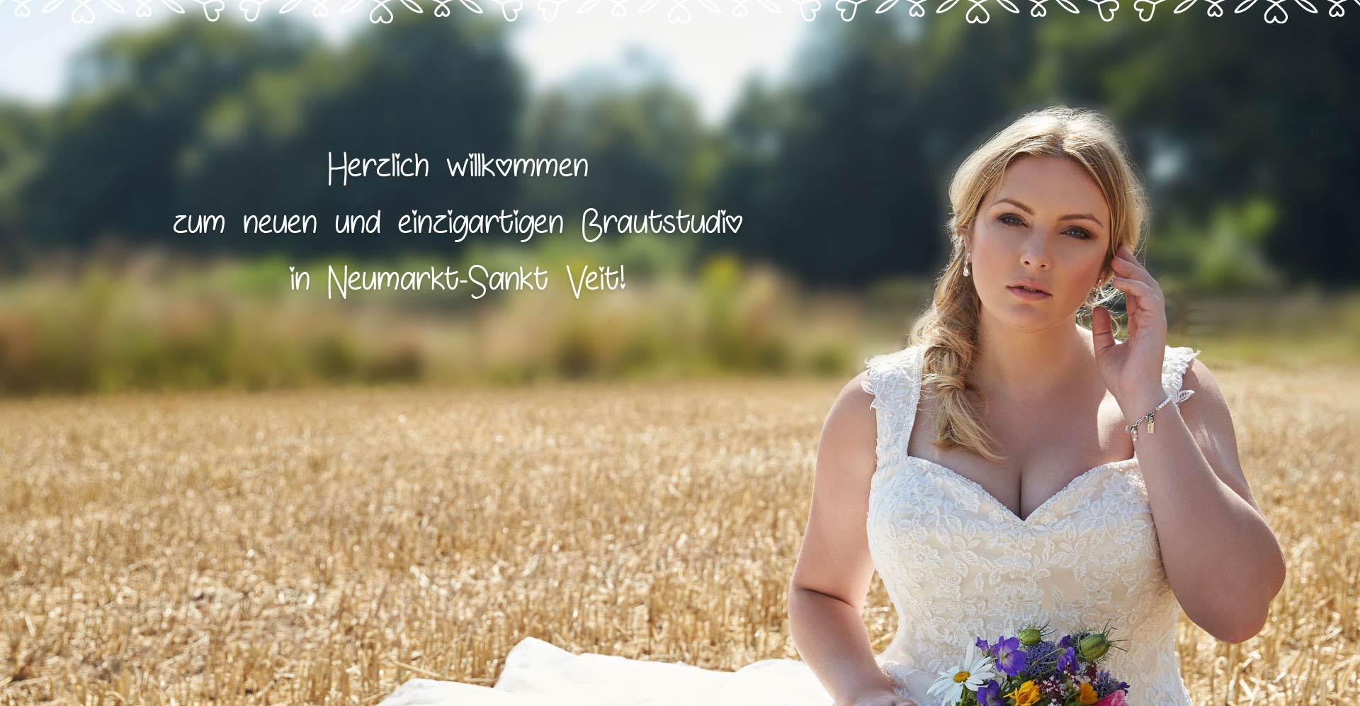 Herzlich willkommen im neuen und einzigartigen Brautstudio in Neumarkt-Sankt Veit!